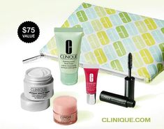 Enter coupon code BEST on Clinique.com website and get this 6-pc gift for free.