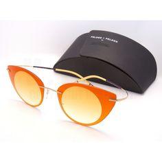 Silhouette Sunglasses Felder Felder 9907 6051 Orange Gold 9907-6051