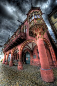 The Red House, Freiburg, Baden-Württemberg, Germany Abandoned Mansions, Abandoned Buildings, Abandoned Places, Beautiful Architecture, Art And Architecture, Pavilion Architecture, Sustainable Architecture, Residential Architecture, Contemporary Architecture