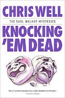 Knocking 'Em Dead: The Earl Walker Mysteries  IS IT CURTAINS FOR EARL AND GLORIA?   When Earl's darkest secret comes to light, it threatens to derail his wedding plans—soon there is a murder and his young friend Jenny is on the spot. Can Earl hook the killer before the final curtain call?