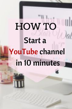 Do you want to start a YouTube channel but you feel unsure of where to start? Well I am here to help!Starting a YouTube channel can...