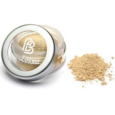 BareFaced Beauty Travel Size Mineral Foundation ($6.19) ❤ liked on Polyvore featuring beauty products, makeup, face makeup, foundation, neutral, hydrating foundation, moisturizing foundation, oil free liquid foundation, sensitive skin foundation and liquid mineral foundation