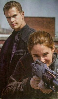 Divergent- sorry but that isnt what tris or four look like at all, four looks way too old and tris isnt at all like herself