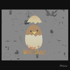 Chicken Birthday My Self