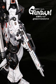 Neo Grade Nu Gundam - Customized Build Modeled by Seoyahooya Gunpla Custom, Custom Gundam, Frame Arms, Neutral Color Scheme, Gundam Model, Mobile Suit, Plastic Models, Custom Paint, Grade 1
