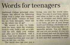 """Says """"words for teenagers""""; personally I think these are pretty good words for a lot of adults too."""