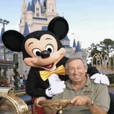 Roy disney and mickey... Walts brother