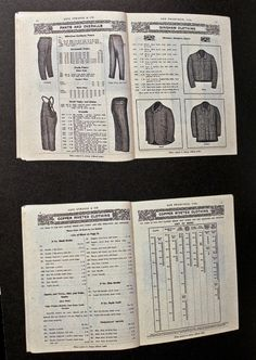 Levi Strauss & Co. Catalog  1904/05
