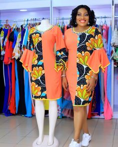 Checkout These Classy Ankara Gowns That Will Give You That Elegant Look - Fashion&Beauty - operanewsapp African Fashion Ankara, Latest African Fashion Dresses, African Print Fashion, Short African Dresses, African Print Dresses, Ankara Gowns, Ankara Skirt, African Traditional Dresses, African Fashion