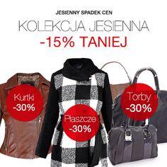 W ten weekend w Monnari promocja na całą kolekcję jesienną - 15% rabatu! Wszystkie kurtki, płaszcze i torby są tańsze o 30%, a wybrane swetry można upolować nawet za pół ceny! Oferta ważna do 21 października. Zapraszamy!