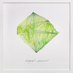 August - Peridot by Naomi Ernest at minted.com