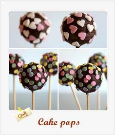 Cake Pops...la recea con el tutorial paso a paso http://giodicakes.blogspot.com.es/2013/09/cake-pops-la-receta-con-el-paso-paso.html