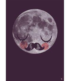 Affiche+Moon+Omm+Design