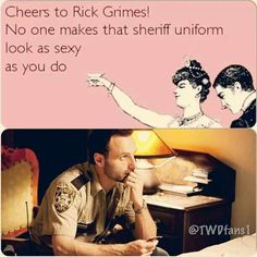 Sheriff Rick Grimes The Walking Dead