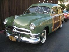 I never understood why anyone would want one of these. The maintenance on the wood, especially with salted roads, must have been herculean. Cars Usa, Us Cars, Ford Classic Cars, Classic Trucks, Hot Rod Trucks, Old Trucks, Pickup Trucks, Vintage Cars, Antique Cars