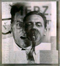 Kurt Schwitters, ca 1924 -by El Lissitzky