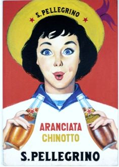 Vintage Italian Posters ~ #illustrator  #Italian #posters ~ old San Pellegrino advertising