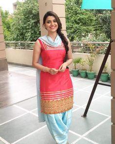 Punjabi Salwar Suits, Designer Punjabi Suits, Patiala Salwar, Indian Designer Wear, Shalwar Kameez, Punjabi Fashion, Bollywood Fashion, Indian Fashion, Indian Suits