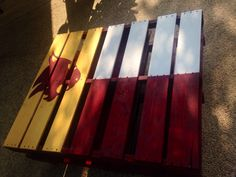 Texas State University pallet table!