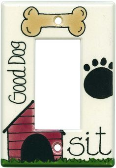 GOOD DOG Switch Plates, Outlet Covers & Rocker Switchplates