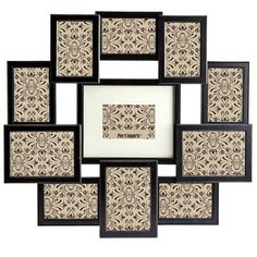 With this awesome collage frame, you won't have to choose one picture you want to display — you'll have to choose 11. Good thing you took that decision-making course.
