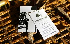 West Coast Thrift identity and business card design!