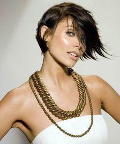 Natalie Imbruglia trendy hair style