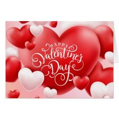 Happy Valentine's Day Holiday Card | Zazzle.com
