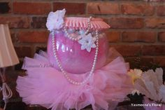 Yasmeenau0027s Floral: Ballerina/Tutu Personalized Baby Shower Theme