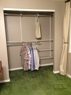 Great The New Closet System!!!! Rubbermaid Configurations