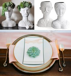 SUCCULENTS + LOVE | My Top 10 Most Cherished Ways to Dress Up Your Wedding in Succulents. Also, The Bachelorette & The Bambeeen. | The Knott...