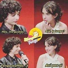 Read from the story Memes de Stranger Things by softxrw (( ͡°ᴥ ͡° ʋ)) with reads. Stranger Things Funny, Stranger Things Netflix, Stranger Things Season, Millie Bobby Brown, Saint Anything, Charlie Heaton, Starnger Things, It Movie 2017 Cast, Saints Memes
