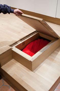 estrade et lit fredfabric astuces gain de place pinterest cuisine. Black Bedroom Furniture Sets. Home Design Ideas
