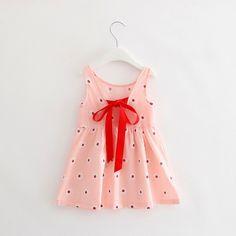 2-7Years Berry Dress