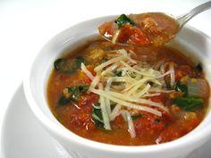 Tomato Soup Florentine - 4 WW PP