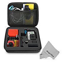 GOJA Customizable Foam Protection Carry Case (Medium) for GoPro Hero Camera and Accessories Gopro Shop, Gopro Hero, Medium, Accessories, Medium Long Hairstyles, Jewelry Accessories