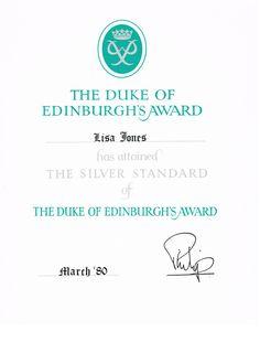 Attaining the Silver Level of the Duke of Edinburgh's Award