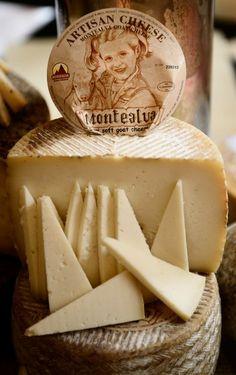 Montealva, a goat's milk cheese from Cadiz area, Spain.