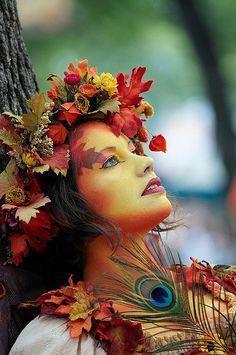 Check out the rest of the characters - the makeup and costuming is masterfully done.  Autumn by theta_sigma, via Flickr