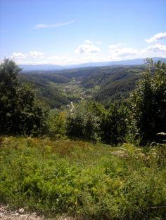 Bosnian landscape. All that green!!