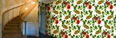Wallfashion: FRONT YARD Ivy & Amaryllis, by Muurbloem