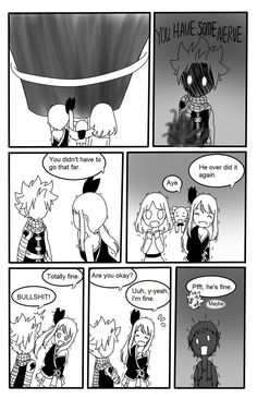 Page 3 Read Natsu x Lucy: He's mine from the story {Drop}Fairy tail doujinshi by RubyKuroibara (Hải Phương) with 298 reads. Fairy Tail Funny, Fairy Tail Art, Fairy Tail Ships, Fairy Tale Anime, Fairy Tales, Miss You, Minions, Lucy Fairy, Emo