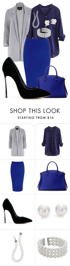 """""""#47"""" by snowhite-emmy ❤ liked on Polyvore featuring River Island, Glamorous, VBH, Casadei, Mikimoto, Lagos and John Lewis"""