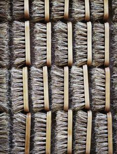 Horse hair brushes