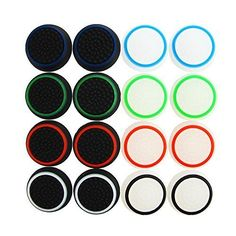 From 1.99:Pack of 16pcs Thumb Grip Thumbstick Noctilucent Sets for PS2 PS3 PS4 Xbox 360 Xbox One Controller by SuperStore_Electronics