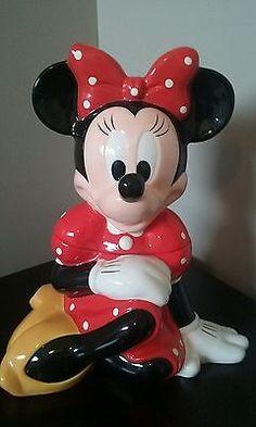 Vintage Disney MINNIE MOUSE Cookie Jar ~