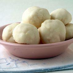 Cream Cheese Meltaways with Lemon Glaze   MyRecipes.com