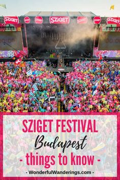 Festival Outfit Sziget Festival Budapest join me on the Island of Freedom! Going to Sziget festival in Budapest Hungary? Check this guide for tips on camping, your Sziget outfit, Sziget ticket prices and more. Ways To Travel, Travel Tips, Travel Destinations, Travel Advice, Ticket, Festival Guide, Hungary Travel, Europe Holidays, Festivals Around The World