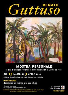 Renato #Guttuso, #Mostra Personale dal 13 marzo al 3 aprile 2016 a #Brindisi (Br)