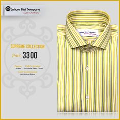 Fashion is a Life; to fill your life with colors we introduced our best-selling spring collection. What are you waiting for, get those creative juices flowing and start designing your custom Fit shirt, today.  LSC is offering 25% off on all our shirts (expect for exclusive fabrics Range).  For ordering inbox us your contact details or Reach us @ (042) 35844470.